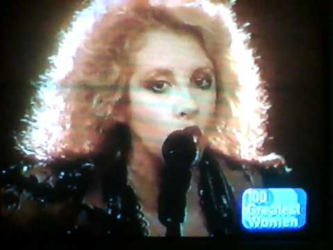Stevie Nicks on VH1s 100 Greastest Women 2001