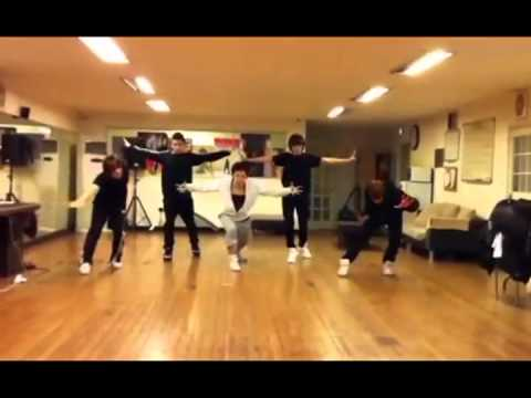 N-Train dance practice 2