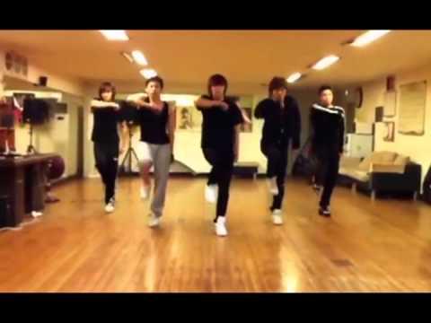 N-Train dance practice