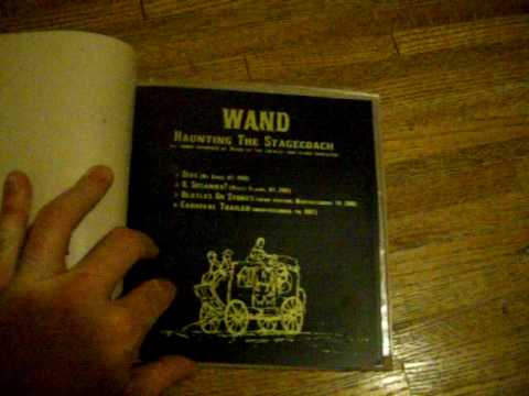 Wand Haunting The Stagecoach Lathe Cut Record and Book