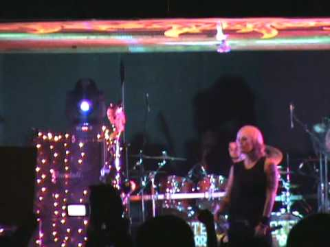 "Otep playin there 1st song "" Battle Ready"" at woodshock 13 2009"