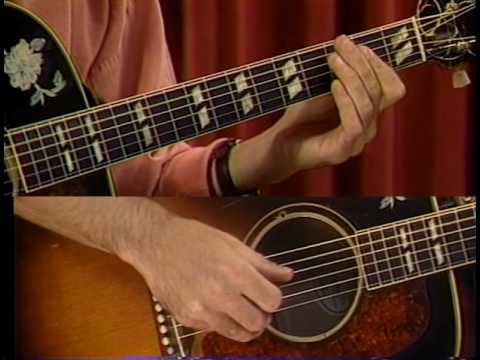 "Woody Mann teaches ""Weeping Willow"" (part 1 of 2)"