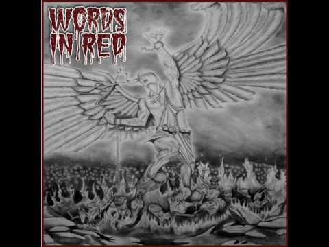 Words In Red-James with a Question Mark