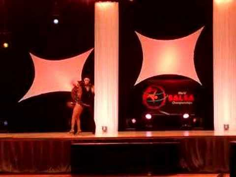 3rd World Salsa Championship-ON1 Division-Isidro & Sheyla