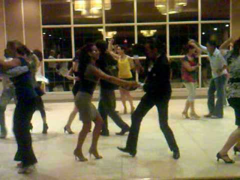 Vito Ranieri and Vali Damaskou @ social dancing at World Salsa Championship 09