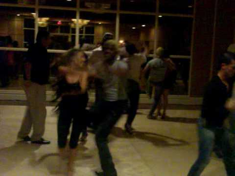 World Salsa Championship 2009 @ Stefania Errede social dancing