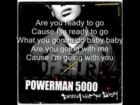 Powerman 5000-When world`s Collide w/ Lyrics