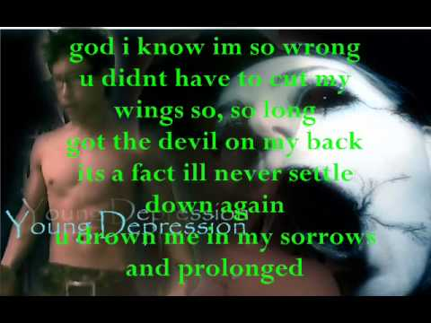 Hell`s Angel - Young Depression (Lyrics on Screen)