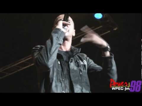 "Power 98: J.Cole performs ""Who Dat"" at Summerfest `10"