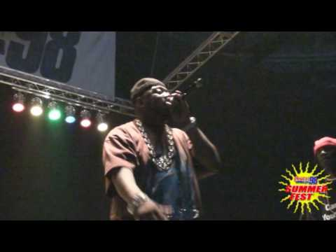 "Power 98: Twista performs his Classic Hits plus ""Wetter"" at Summerfest 09!"