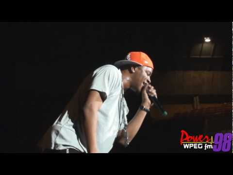 "Power 98: Dorrough performs ""Get Big"" at Summerfest 2010"