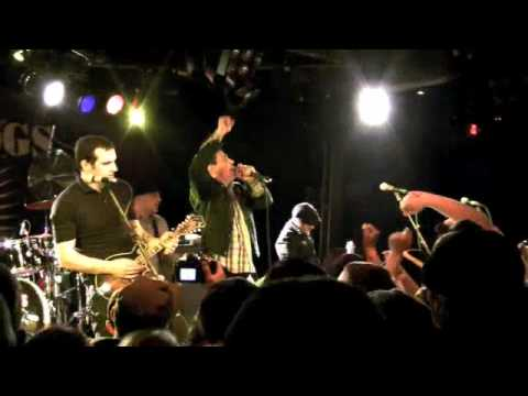 "STREET DOGS: ""Two Angry Kids"" (Wreck the Halls, The Paradise, Boston 12/19/09)"