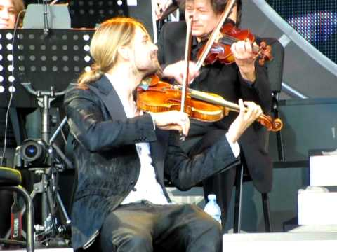 David Garrett Open Air Konzert Berlin Wuhlheide - He�sa pirate