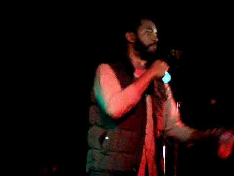 Wyatt Cenac & Che Grand - Freestyle @ Audible Treats CMJ Showcase, Southpaw, Brooklyn, NYC, 10/22/09