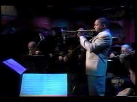Wynton Marsalis on Letterman