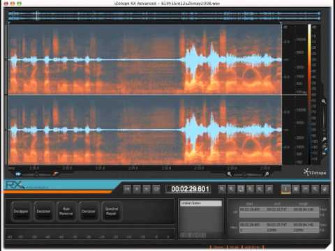 iZotope RX Advanced v1.30 VST / x86 & x64 (PC / Mac)