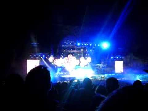 Muse - New Born @ Festival Xacobeo 10 Monte do Gozo, Santiago de Compostela 27/08/2010