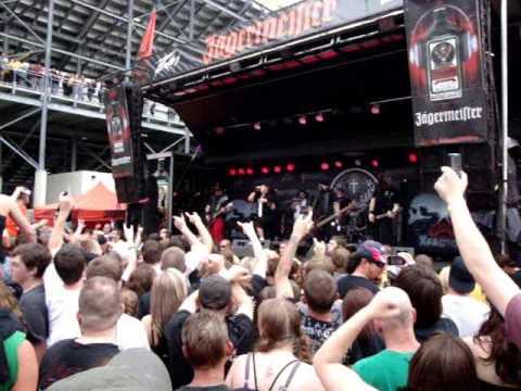 XFactor1 - Paint It Black LIVE @ Rock On The Range 2009