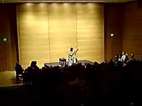 Xuefei Yang - La Cumparsita - Forth Worth USA - Oct 2007