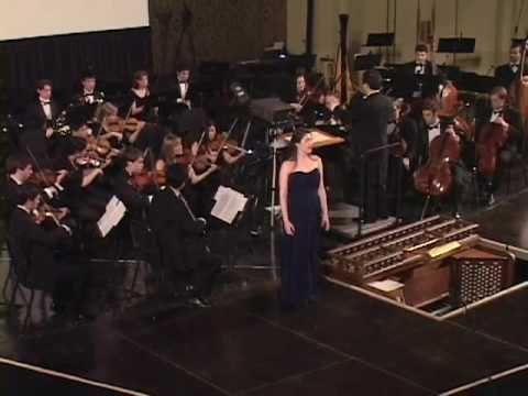 Mozart - Exsultate Jubilate 3 (Yale Symphony - April 18, 2009)