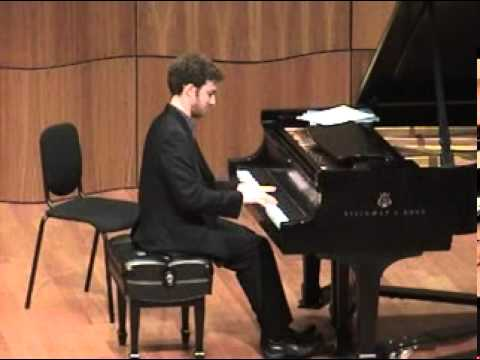 Yaron Kohlberg - Chopin Sonata No 3 - 1/4