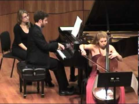 Debussy - Cello Sonata - 2 of 3