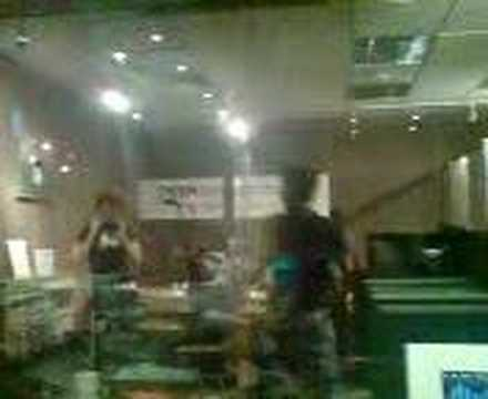 The Yashin in the BBC Radio 1 studio
