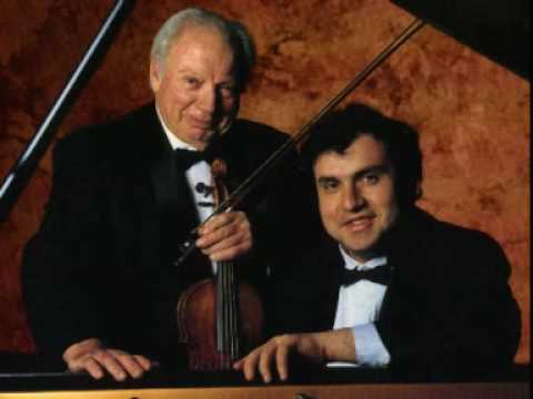 Mozart - Sonata for Piano and Violin in E minor K. 304 (2nd movement) - Bronfman, Stern
