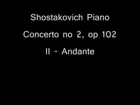 Shostakovich Piano Concerto No 2 [2nd mov] - Y. Bronfman