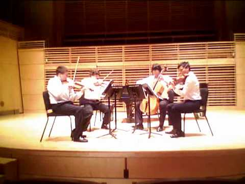 Beethoven - 1st movement of String Quartet Op. 59 No. 3