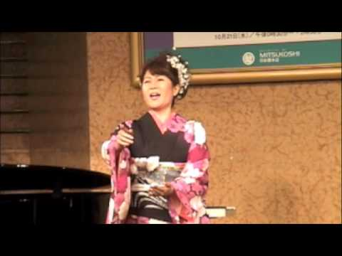 Yoko Maria sings Un bel d� vedremo Puccini Madama Butterly ???? ???????