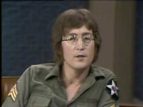 John Lennon and Yoko Ono - Dick Cavett Show Excerpt 3 of 6