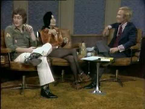 John Lennon and Yoko Ono Dick Cavett Show Excerpt 2 of 6