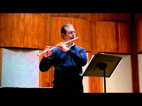 Youtube Symphony Orchestra 2011 Flute Audition - Marco Granados