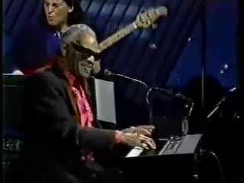 Ray Charles - Teardrops From My Eyes - Tonight Show