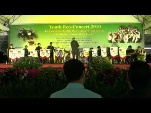 ITE Jazz Band - Heal The World (Live @ Youth Eco-Concert 2010 Bishan Active Park)