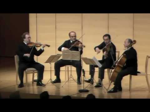 Haydn op. 76 No 5 - 3rd Mvt - Ysaye String Quartet