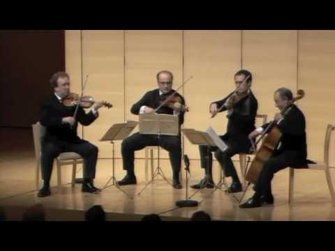Haydn op. 76 No 5 - 4th Mvt - Ysaye String Quartet