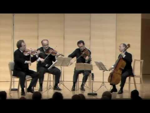 Haydn op. 76 No 5 - 2nd Mvt - Ysaye String Quartet