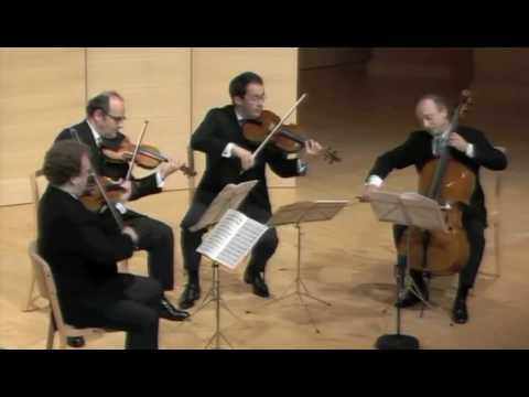 Haydn op. 76 No 5 - 1st Mvt - Ysaye String Quartet
