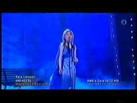 Talang 2008 - Final - Zara Larsson My heart will go on 100%