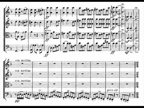 Alexander Zemlinsky - String Quartet no. 1 (2/4)