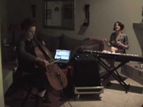 Time is Running Out... in Rob`s Living Room with Amanda Palmer and Zoe Keating (Muse Cover)