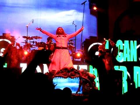 Rob Zombie - Dragula - LIVE @ Edge Fest VI 2010.AVI