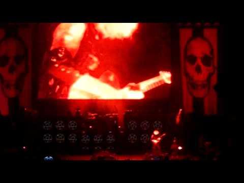 Rob Zombie John 5 guitar solo (live Mayhem fest in MA)