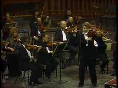Shlomo Mintz: Mendelssohn Violin Concerto Mvt.3