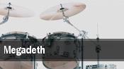 Megadeth Burgettstown tickets