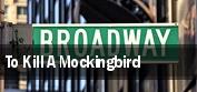To Kill A Mockingbird Connor Palace Theatre tickets
