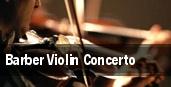 Barber Violin Concerto Tucson Music Hall tickets