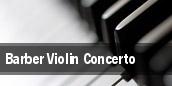 Barber Violin Concerto Tucson tickets